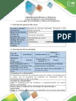 Guía de Actividades y Rúbrica de Evaluación - Fase 3 - Analizar El Problema y Complementar El Marco Teórico y Bibliografía