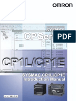 W461E104 CP1L CP1E Introductory Manual