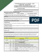 Plano de Curso - Estruturas de Contenção - 2017-1