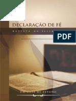 Declaracao de Fe Batista do Sétimo Dia