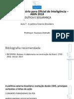2018 ABIN T3 Politica e Seguranca Aula07 Apresentacao01