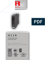 manual PR 4116