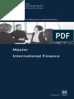 MA Int Finance En