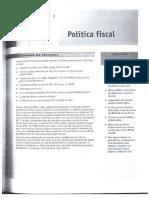 Economia Capitulo 8 Política Fiscal