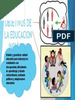 Objetivos de La Educacion Inclusiva