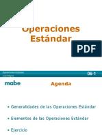 06 Operaciones Estandar