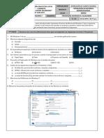 Examen de Windows 7 - CETPRO