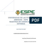 MGS Planificacion de TI Caso Practico BSP