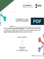 Modelo Certificado Final