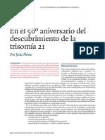 Trisomia en El Cromosomas 21