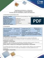 Gua de Actividades y Rúbrica de Evaluación - Fase 3 - Crear