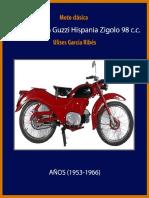 Manual restauración moto clásica, Guzzi Hispania Zigolo 98 c.c.