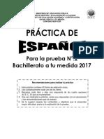 Practica Espanol Bachillerato a Tu Medida 02 2017