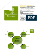 graphic organizer genetic defect fill in