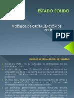 1.3 -Modelos de Cristalización de los polímeros - 2018.ppt