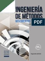 Ingeniería de Métodos 2da Edición