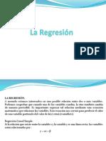 Leccion No6 La Regresión