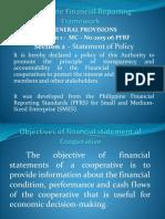 Philippine Financial Reporting Framework