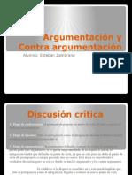 Argumentacion y Contra Argumentacion