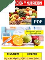 Alimentacion y Nuttricion