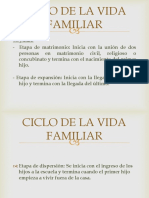 Ciclo de La Vida Familiar