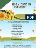 Flora y Fauna en Colombia