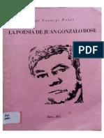 La poesía de Juan Gonzalo Rose - Jorge Cornejo Polar