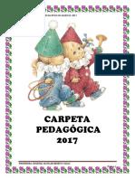 CARPETA PEDAGÓGICA 2017