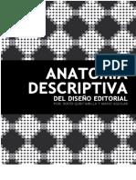 Anatomia Descriptiva Del Diseño Editorial