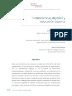 RETE - Competencias Digitales y Educación Superior