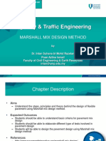 OCW Marshall Mix Design Method