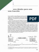 Levenspiel Capitulo 5 Tipo de Reactores Quimicos