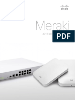 Cisco Meraki Solution Brochure 2014