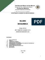 Bioquimica Nutricion 2017-I