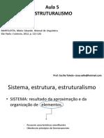 Aula 5 - Estruturalismo
