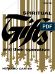 Spiritual Gifts and Their Operation - Howard Carter