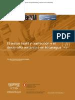 Sector Textil y Confeccion y El Desarrollo Sostenible en Nicaragua