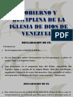 Gobierno y Discilina