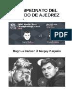 Mundial Carlsen - Karjakin