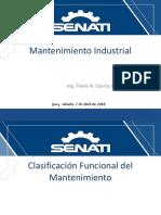 3-Clasificación Funcional Del Mantenimiento II