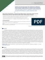 Caracterización Del Aceite Microencapsulado de Cardamomo
