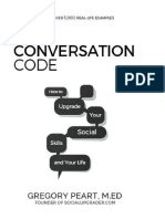 Gregory Peart the Conversation Code How to Upgrade Your Social Skills and Your Life Aurelius Books