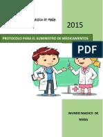 Protocolo Suministro de Medicamentos icbf