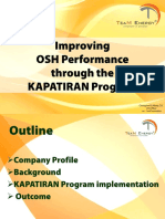 1a Improving the OHS Performance Through the Kapatiran Program