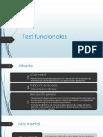 Clase Test Funcionales