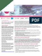 CheckPoint  Cloudguard Saas