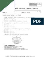 Evaluacion Formativa Cordenadas Geograficas