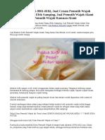 PROMO! WA 0896-9901-8182, Jual Cream Pemutih Wajah Yang Alami Tanpa Efek Samping, Jual Pemutih Wajah Alami Dan Efektif, Jual Pemutih Wajah Ramuan Alami