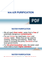 Water Purification Powerpoint