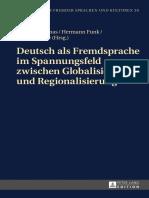 DaF Globalisierung Und Regionalisierung